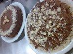 torta de castanha-do-brasil